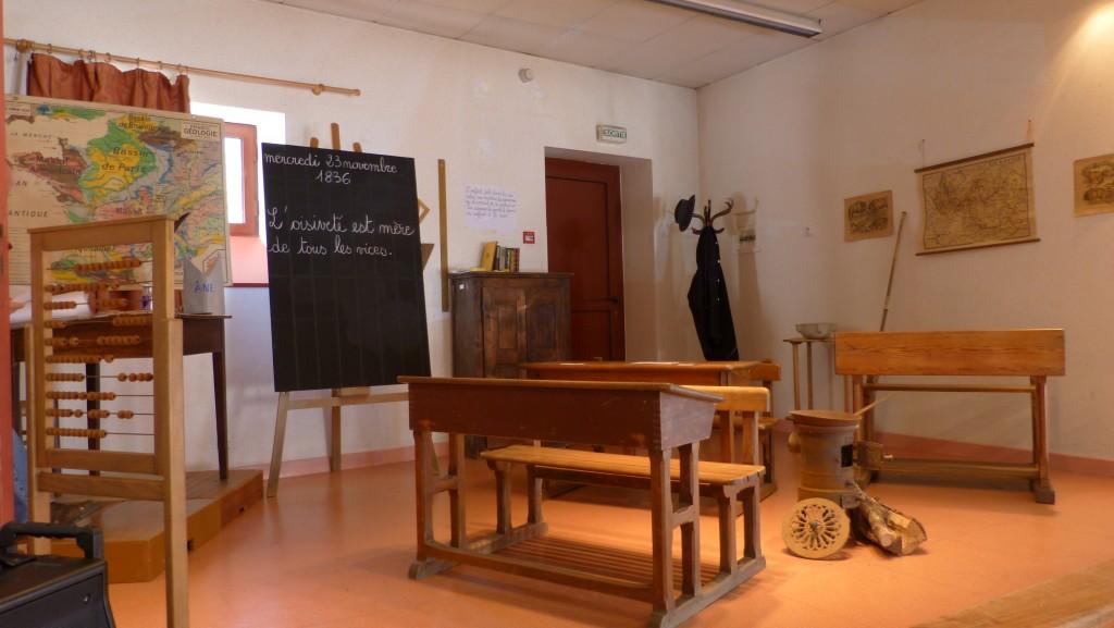 école chindrieux classe à l'ancienne